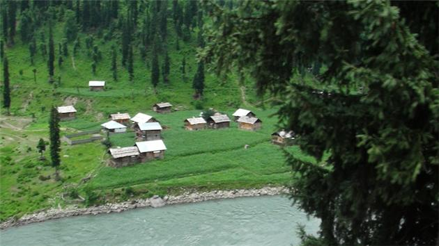 Devastated effects of Diversion of River Neelum