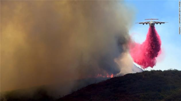 Wildfires Burn Across California