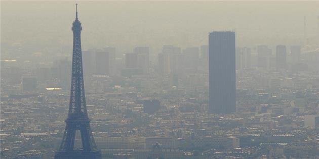 ۹۰ % جمعیت شهری اروپا در معرض آلودگی هوا