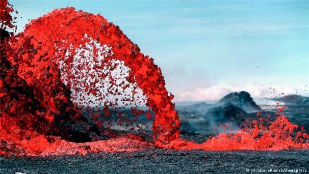 گازهای سمی آتشفشان کیلاویا تهدیدی برای ساکنان هاوایی