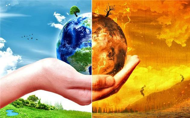 افزایش 18 درجه ای دمای زمین بر اثر انتشار گازهای گلخانه ای