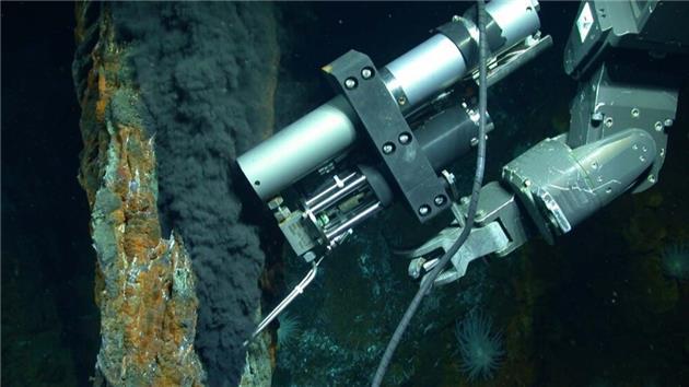 کشف منبع بزرگی از متان در اعماق دریا
