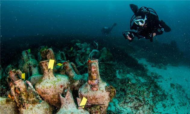 افتتاح نخستین موزه زیر آب یونان