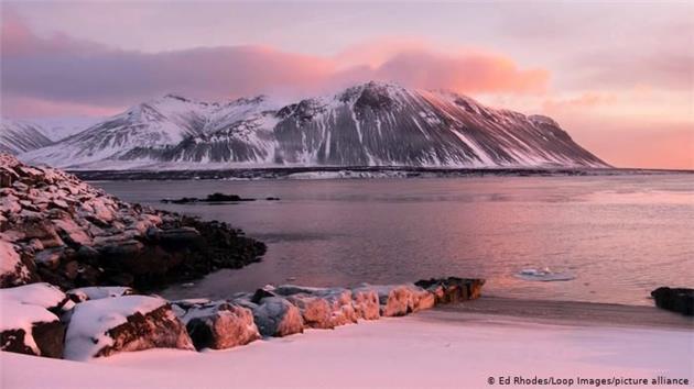 زمستان سحرانگیز در سواحل شمال اروپا