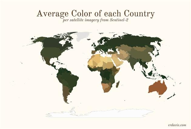 جهان پیرامون ما چه رنگی است؟